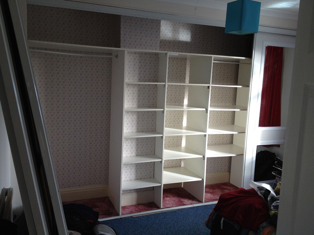 Bedroom refurb before shot